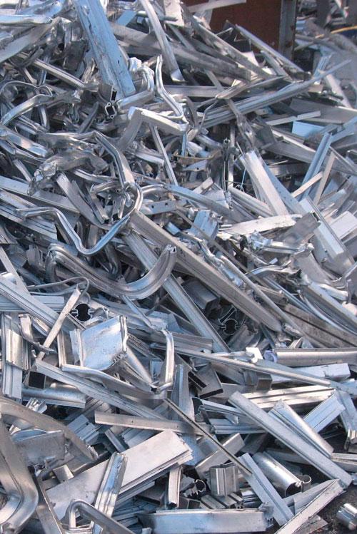 chatarra para reciclaje de perfiles de aluminio